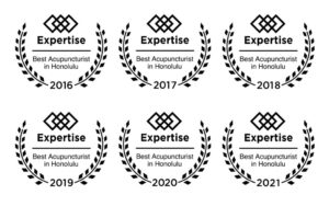 Best Acupuncturist in Honolulu by Expertise.Com - 6 Consecutive Years in a Row